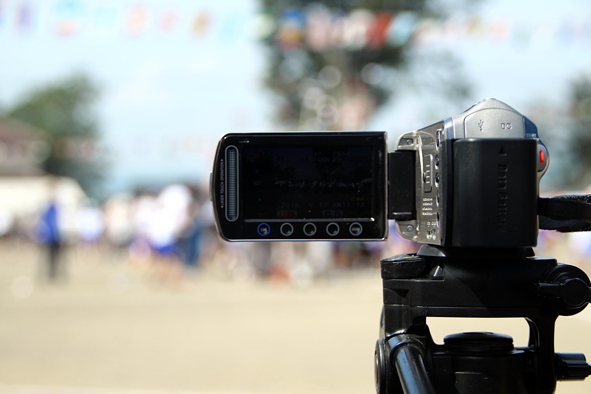小学校の運動会で使える!ワタシのビデオカメラの選び方!